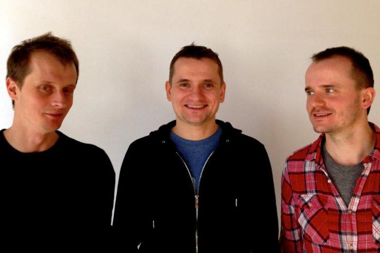 Na zdjęciu od lewej: Paweł Deryło (CTO Radgost), Marcin Stefaniak (CEO Radgost), Michał Stefaniak (CMO Radgost).
