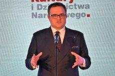 Michał Krupiński, bliski współpracownik Zbigniewa Ziobry, prezes Pekao. Jego mama kupiła mieszkanie w tzw. kamienicy Waltzów przy Noakowskiego 16