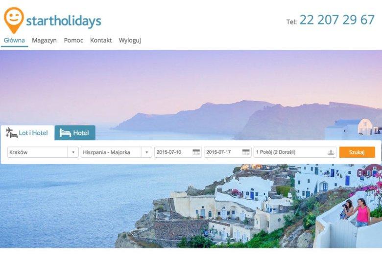 Dzięki Start Holidays można dokładnie zaplanować swoje wakacje.