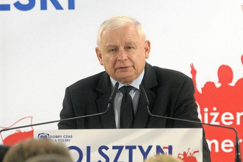 Jarosław Kaczyński zapowiedział budowę 100 miejskich obwodnic.