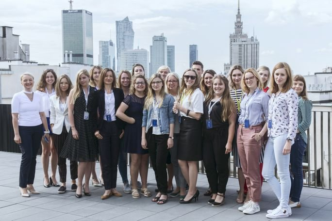 Uczestniczki II edycji Girls Go Start-up Academy