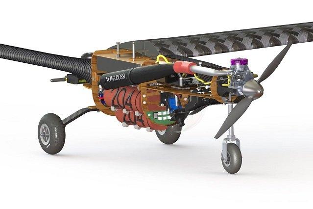 Projekt bezzałogowego samolotu.