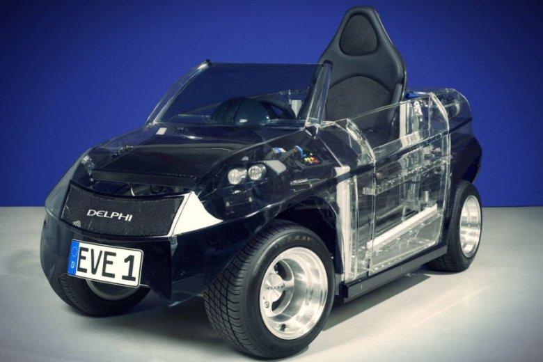 EVE - pojazd elektryczny, będący bazą dla eksperymentów inżynierów krakowskiej Akademii Górniczo-Hutniczej.