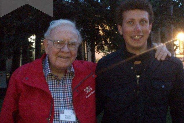 Spotkanie Zakrzewskiego z Warrenem Buffetem