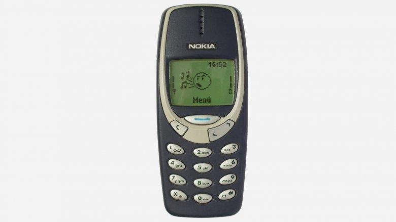 Oryginalna Nokia 3310 z 2000 roku.