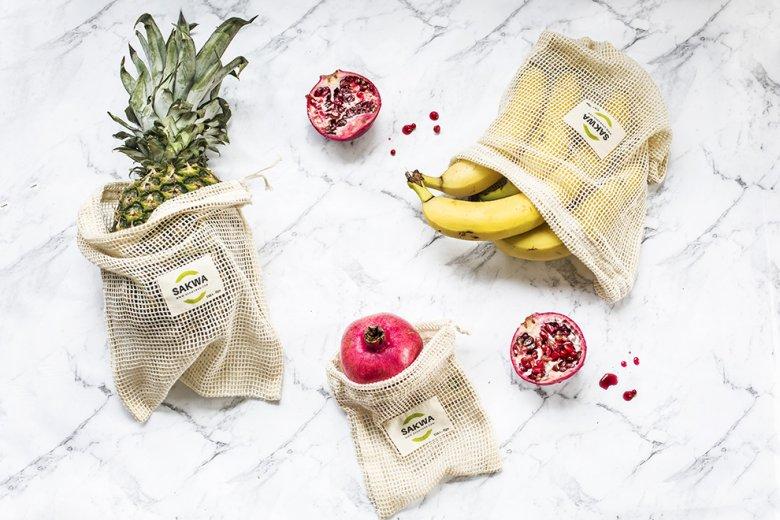 Sakwabag to ekologiczne, bawełniane woreczki, stworzone jako wielorazowa alternatywa dla plastikowych opakowań.