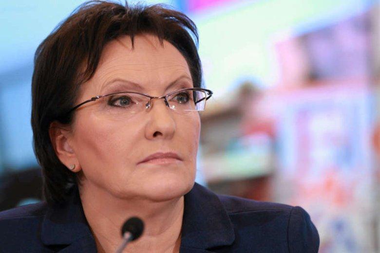 Poparcie dla Ewy Kopacz wśród przedsiębiorców spadło od grudnia o 42 punkty procentowe