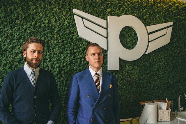 Staszek Kolarzowski i Mateusz Drożdżyński z Pilot.co