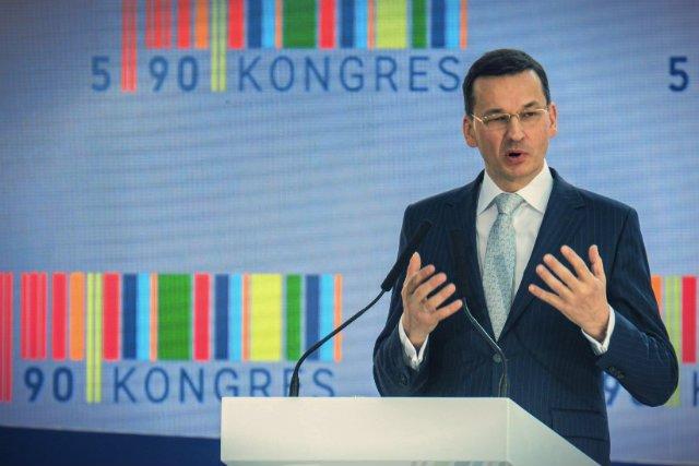 Optymizm Komisji Europejskiej bardzo ucieszył ministra Mateusza Morawieckiego