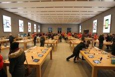 Sklep Apple w Berlinie.