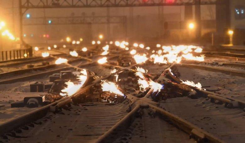 W Stanach Zjednoczonych płoną szyny kolejowe