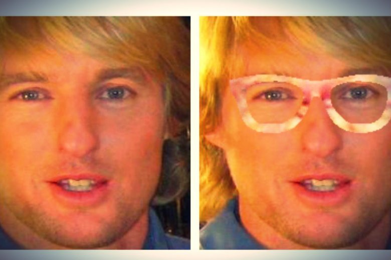 Po lewej aktor Owen Wilson. Po prawej - zupełnie nieznany mężczyzna. Przynajmniej według systemu rozpoznawania twarzy.