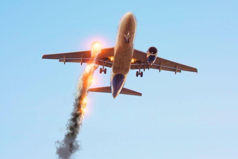Samolot z Malediwów do Bangkoku zaczął płonąć 15 minut po wystartowaniu. (zdjęcie poglądowe)