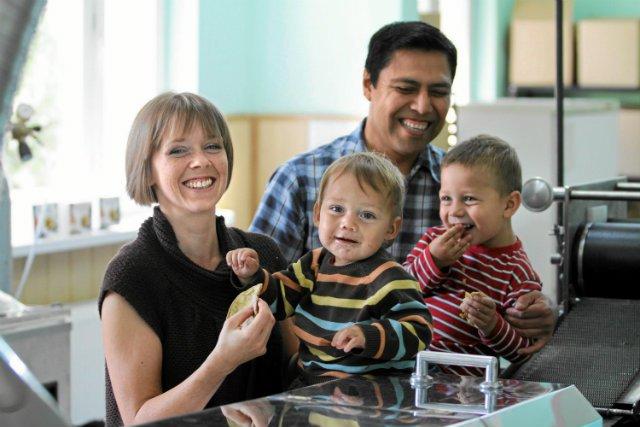 Właściciele firmy Molino, Marta Santoyo-Wyrzykowska i Jesus Santoyo z synami Rodrigo i Diego. Jako jedyni w Polsce produkują tortillę według oryginalnej meksykańskiej receptury. Z pewnością ucieszyłyby ich nowe przepisy dotyczące sukcesji w firmach.