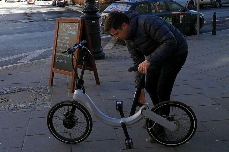 Obsługa roweru jest dziecinnie łatwa