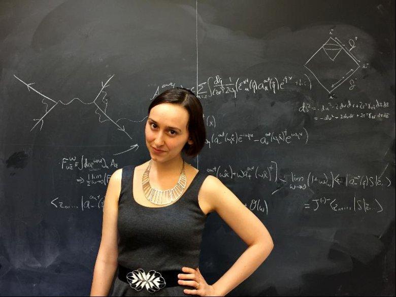 Dziedziną fizyki, która najbardziej interesuje Sabrinę Pasterski, jest grawitacja kwantowa, w której zjawisko grawitacji badane jest w kontekście mechaniki kwantowej