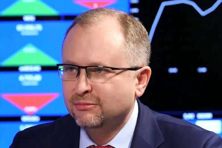 Konrad Kąkolewski, były już prezes GetBack.