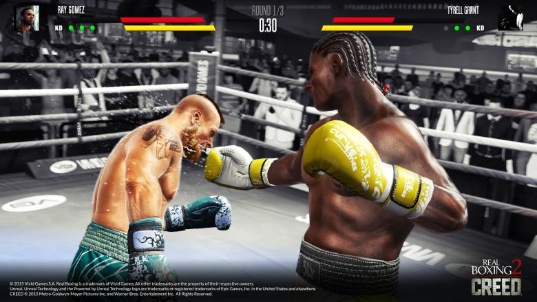 Real Boxing 2 Creed (tm) jest lokomotywą sprzedaży Vivid Games