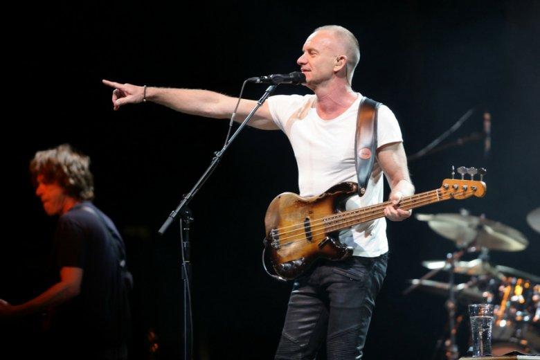 Sting to jeden z tych artystów, którzy dominują i w niskich, i w wysokich częstotliwościach.