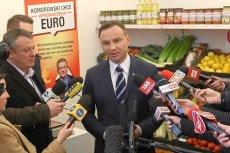 Biedronka postanowiła wprowadzić promocję obejmującą produkty kupione w 2015 r. przez Andrzeja Dudę.