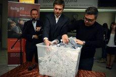 Loteria zorganizowana w ramach kampanii przyciągania nowych podatników we Wrocławiu.