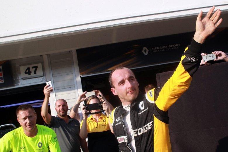 W czasie transferu do F1 Robert Kubica był u szczytu popularności.