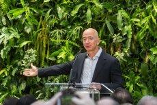Ok. 80 proc. miliarderów odczuło straty finansowe z powodu koronawirusa. Na zdjęciu najbogatszy człowiek na świecie Jeff Bezos, twórca Amazona.