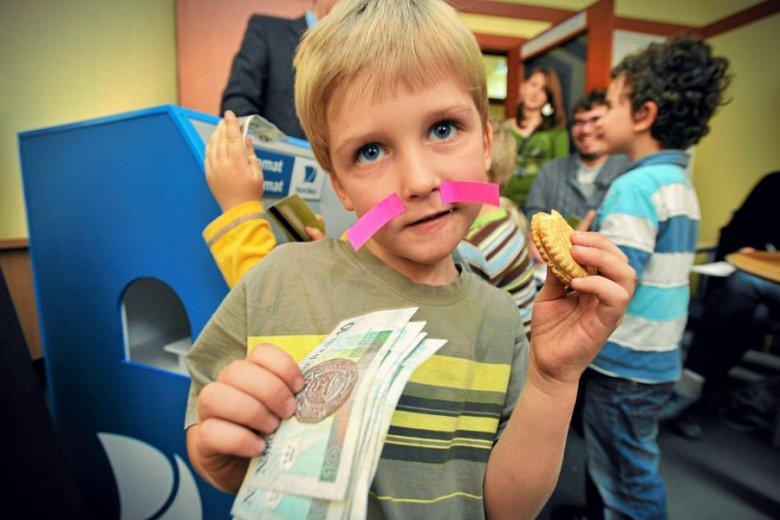 """Bankomat dla dzieci przygotowany przez bank Nordea w ramach Programu """"Edukacja Przedsiębiorczości"""""""
