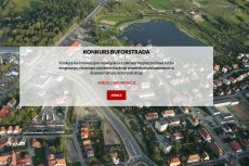 Informacja o konkursie na stronie olsztyńskiego Zarządu Dróg Wojewódzkich