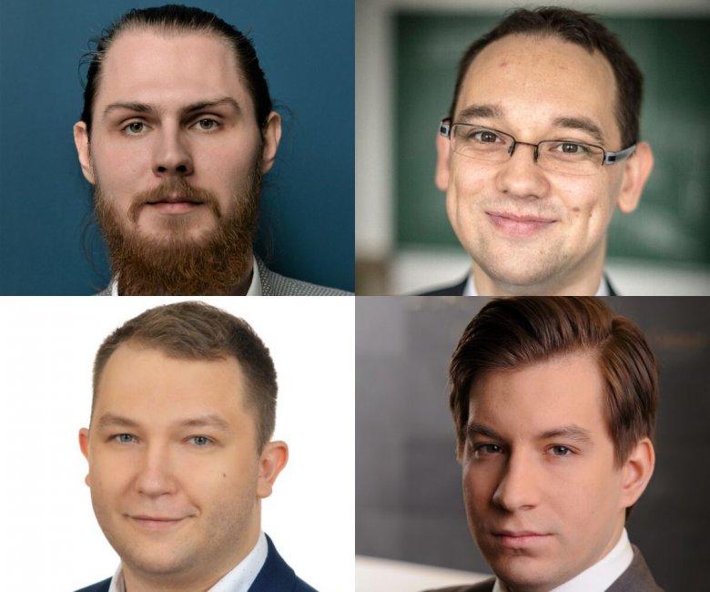 Stefan Cylwik – CEO& Founder, Paweł Gora – Technology Advisor&Co-founder, Rafał Ferenc – CTO&Co-founder, Krzysztof Łysy – CFO&Co-founder.
