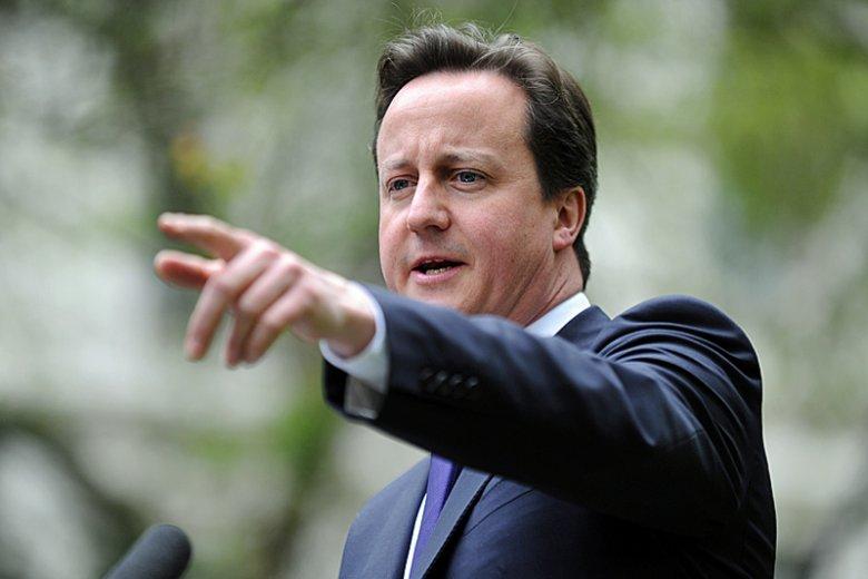 David Camerom, premier Wielkiej Brytanii.