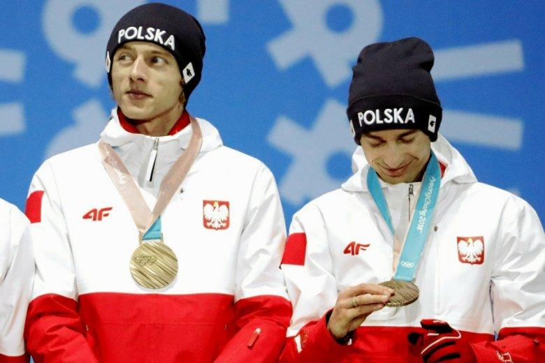 Dawid Kubacki i Kamil Stoch.