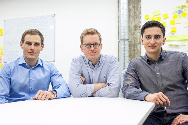 Założyciele Koala Metrics, od lewej: Kamil Burczyk, Kamil Stanuch i Mateusz Pluta.