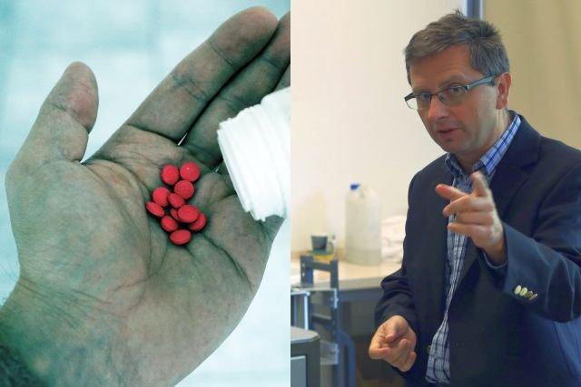 Prof. dr hab. Marian Paluch z Uniwersytetu Śląskiego, jeden z odkrywców nowej formy leku na zaburzenia erekcji