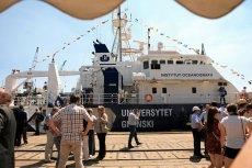 """""""Oceanograf"""" to niemal 50 metrów nowoczesnej technologii."""
