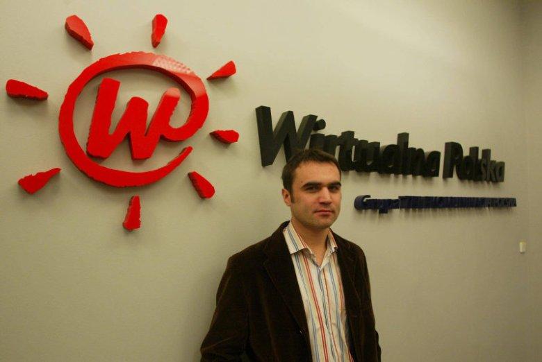 Marek Borzestowski w 2004 roku, gdy był jeszcze prezesem Wirtualnej Polski. Chwilę później sprzedał wszystkie swoje akcje i pożegnał się ze spółką.