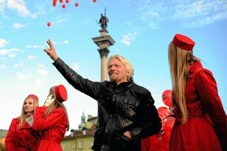 Richard Branson dołączył do grona wpływowych osobistości, które popierają wprowadzenie bezwarunkowego dochodu podstawowego
