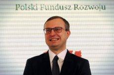 Paweł Borys jest obecnie szefem Polskiego Funduszu Rozwoju