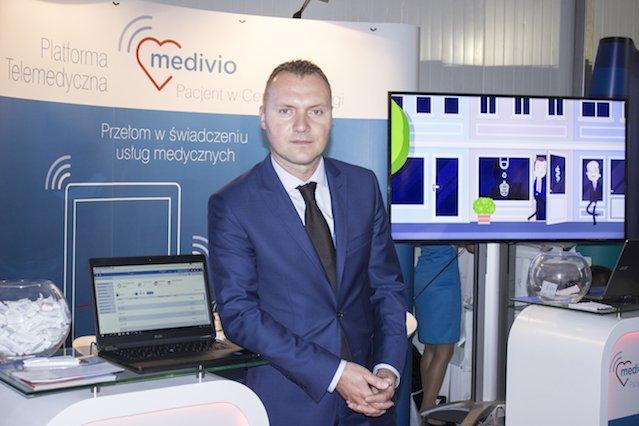 Mariusz Czerwiński z Medivio.