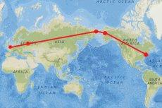 Rosja proponuje autostradę z Londynu do Nowego Jorku, najdłuższą na świecie