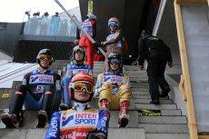 Polscy skoczkowie podczas Turnieju Czterech Skoczni