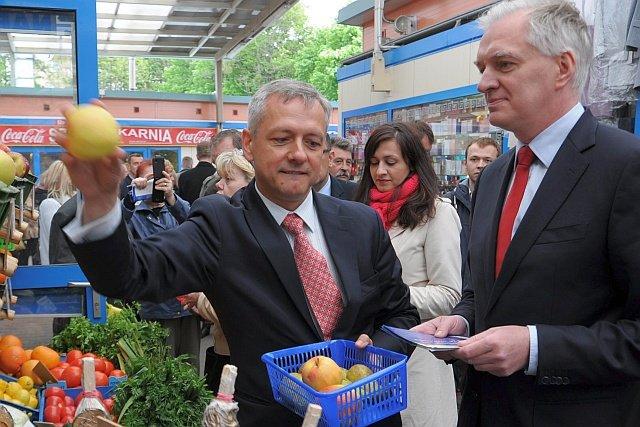 """Marek Zagórski (z lewej), był """"człowiekiem Gowina"""". Opuścił go i przeszedł do PiS, by objąć tekę ministra cyfryzacji"""