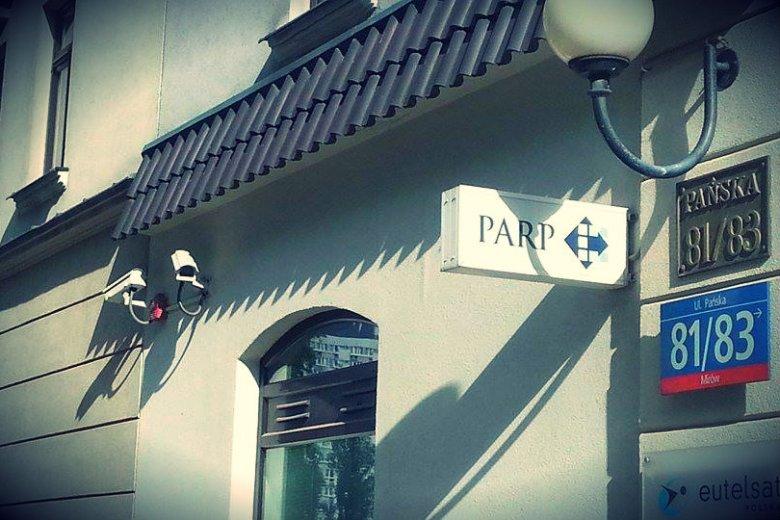 Budynek PARP w Warszawie