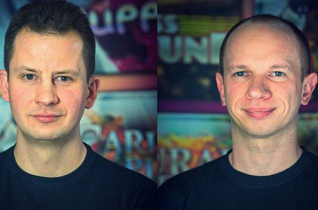 Marek Chwałek, dyrektor finansowy i Sebastian Szczygieł, dyrektor marketingu.