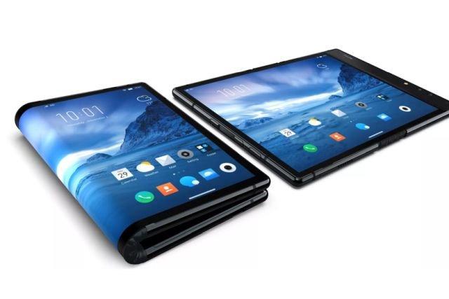 Flex Pai - pierwszy telefon ze składanym ekranem