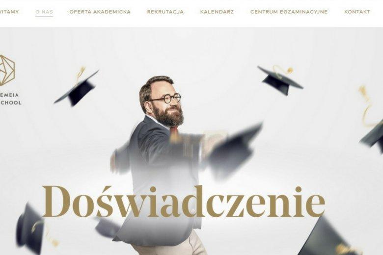 Andrzej Dethloff, założyciel szkoły.