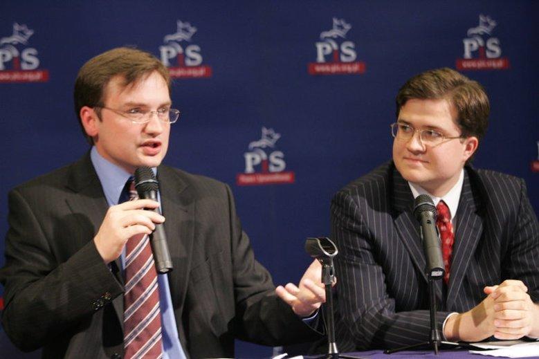 Michał Krupiński, piastujący stanowisko szefa Pekao od lat towarzyszy rodzinie Ziobrów. Na zdjęciu w 2005 roku.