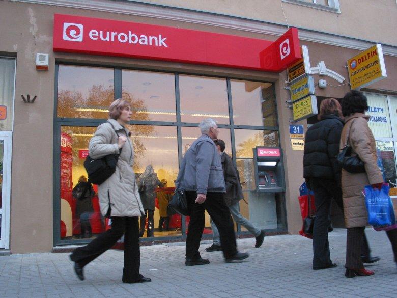 Eurobank jest wystawiony na sprzedaż, jak twierdzą anonimowi informatorzy