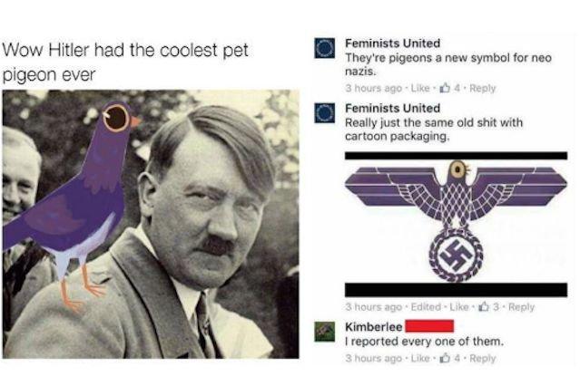 Fioletowy ptak i Hitler? Przecież to oczywiste!