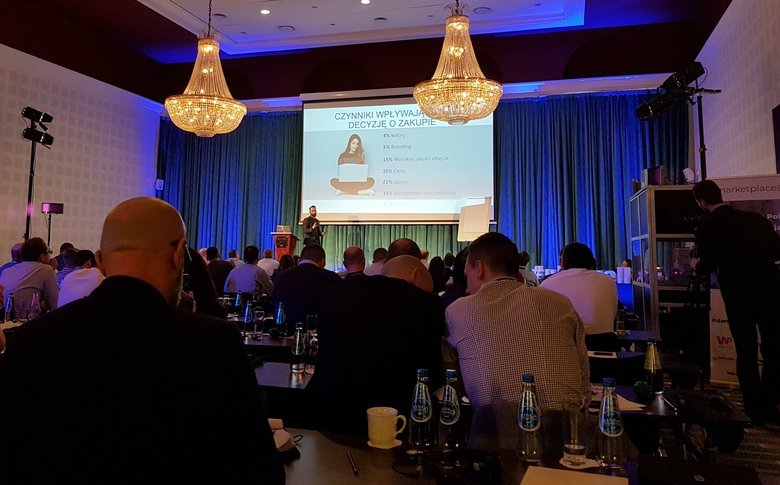 Podczas konferencji Marketplaces'18 specjaliści związani z e-commerce dzielili się informacjami, jak zostać skutecznym sprzedawcą w sieci.